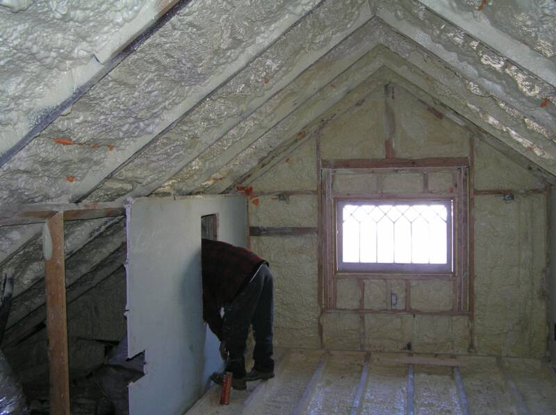 How much does spray foam insulation cost? Icynene